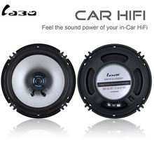LaBo 2pcs Car bass speakers 2 Way 100W speaker 6.5 inch Hifi Coaxial Speaker Full Range Frequency for stereo