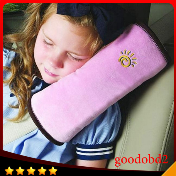 Accessories Soft Kids Car Auto Safety Seat Belt Vehicle Harness Shoulder Pad Cover Children Protection Cushion Support Pillow