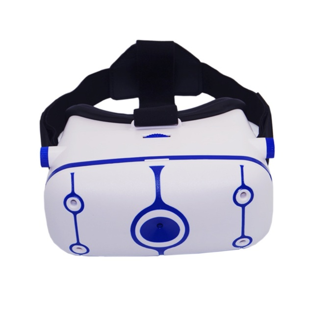 "3D VR Box Movie Video Glasses Virtual Reality Headmounted Google Cardboard Binocular Goggles Helmet for 4.0""- 6.0"" SmartPhone"