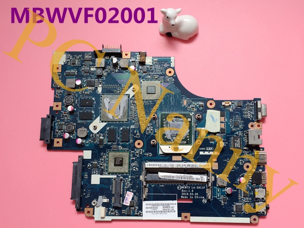 original For ACER 5551 5551G motherboard MBWVF02001 NEW75 LA-5911P DDR3 100% work test fully куплю маз 5551 5549 в украине