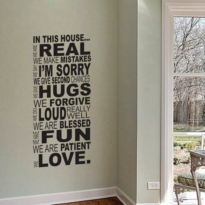 "Free Shipping Family Is Vinyl Wall Lettering Quote Wall: Ebay Hot Selling Free Shipping Family Wall Quotes ""In This"