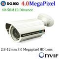 4MP Onvif IP Camera Ambarella S2L PoE Cam IP P2P CCTV Camera, Varifocal Lens, WDR, 42pcs LED, H.264, IR-CUT