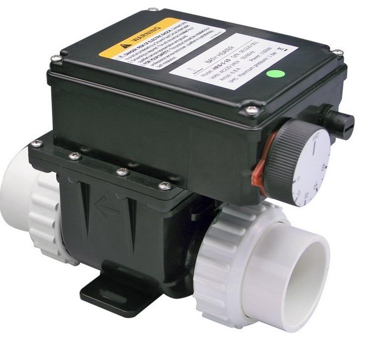 LX H20-RSI spa riscaldatore 2kw con un termostato regolabile per vasca da bagno e vasca idromassaggio riscaldamento e Piscina TERMALE Heate