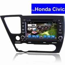 1024 600 Android 2 Din Touch Screen Car Audio Player for Honda Civic Car DVD GPS