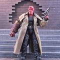 """MEZCO Hellboy PVC Action Figure Collectible Modelo Toy 2 Estilos 7 """"18 cm"""