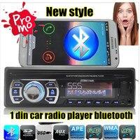 2016 سيارة جديدة راديو لاعب واحد الدين MP3car الصوت بلوتوث مرفوعة الهاتف aux في usb/sd mmc سيارة الالكترونيات في اندفاعة الشحن مجانا
