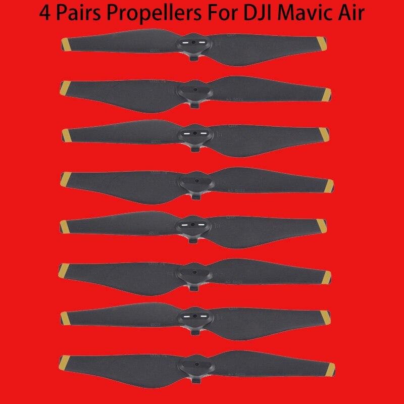 New Arrival 4 pair 8 pcs 5332S Props for DJI Mavic Air Propeller Blade prop for DJI Mavic Air Drone RC Quadcopter Accessories