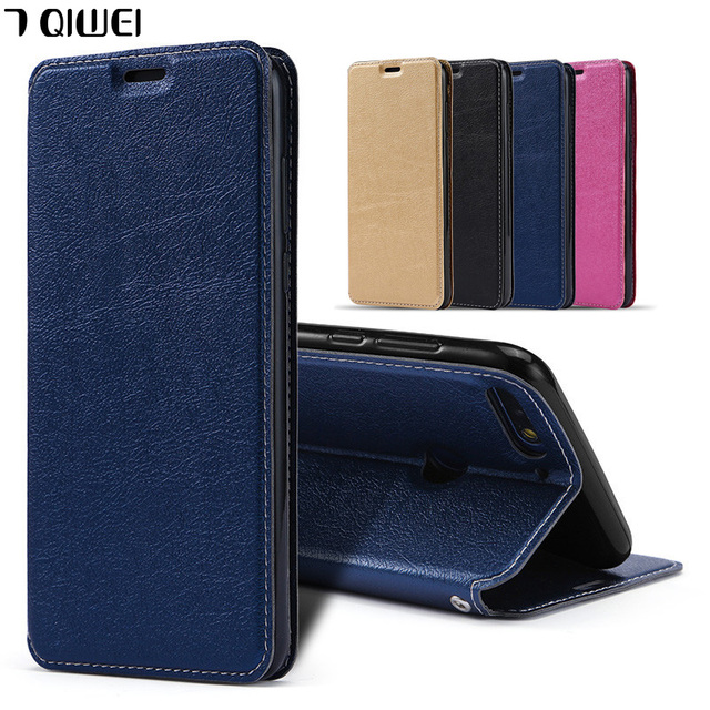 D 5.93'' For Huawei Honor 7X Case Luxury PU Leather + Silicon Back Cover Case For Huawei Honor 7X Case Wallet Flip Honor 7 X X7