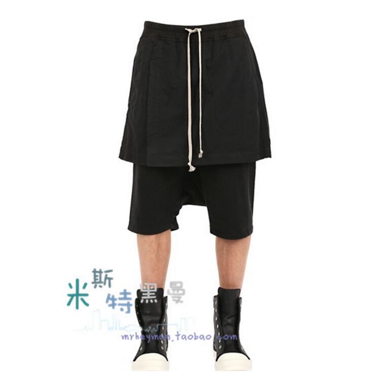 Bajos Ropa 2018 Trajes Nuevas 44 Calf 27 Abierta Falda Mujeres Pantalones Estilo Ro longitud Pants Dos Casual Falso Entrepierna Tenedor qpgSIwf7n
