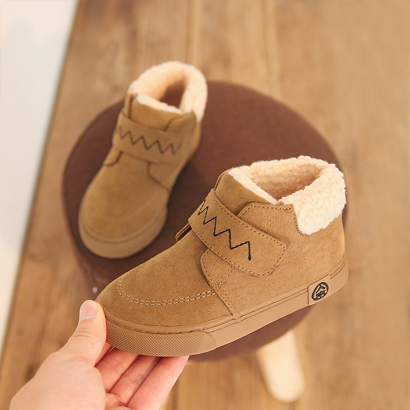 Boys Boots Winter Kids Snow Boots Sport Children Shoes For Boys Sneakers Fashion 2018 New  Child Shoes Size 25-37