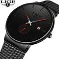 Мужские Ультра тонкие часы 2019 мужские часы люксовый бренд подарок мужские бизнес-часы кварцевые наручные часы для мужчин Relogio Masculino
