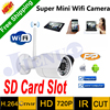 Latest Original HD Mini Ip Camera Security Wifi 720P Surveillance Outdoor Waterproof IR Support SD Card