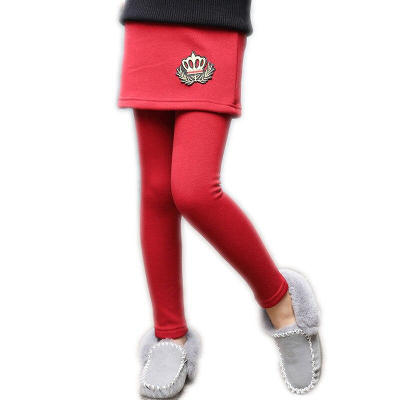 54876c620 Otoño invierno Niña Pantalones de bebé Crow niños polainas pantalones de  lana caliente niñas ...