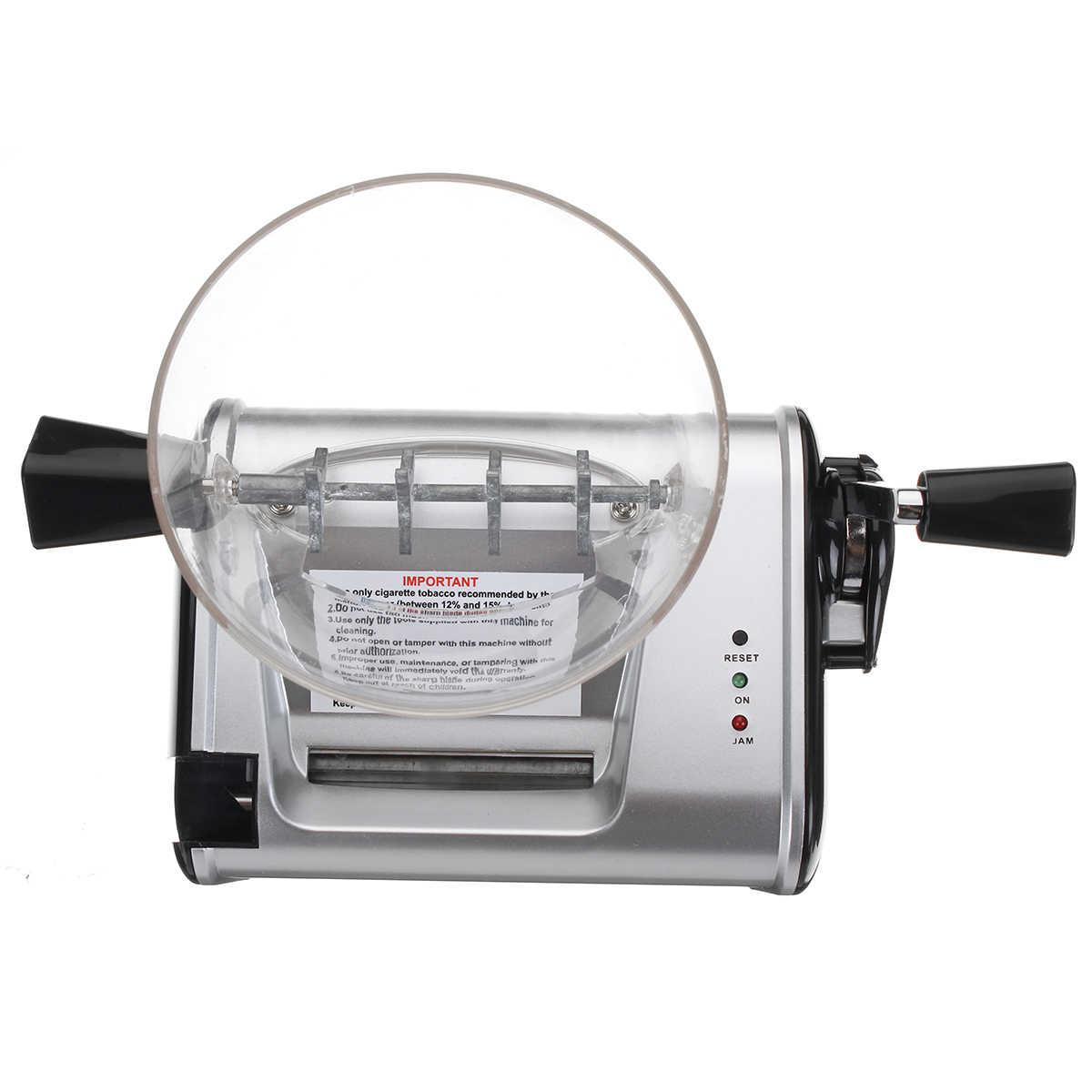 عالية الجودة 220 V الكهربائية التلقائي صنع المتداول آلة السجائر التبغ الأسطوانة صانع حقن 8 مللي متر أنبوب المحمولة التدخين أداة