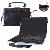 2 in 1 Accurately Designed Protective PU Cover + Portable Carrying Bag For 14 Lenovo Thinkpad X1 Carbon 5th & 6th Gen Laptop