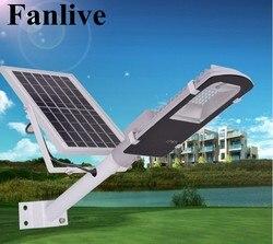 5 sztuk pilot zdalnego sterowania 10W 20W 30W 50W panel słoneczny uliczne światła słonecznego oświetlenie sensorowe na świeżym powietrzu Wall Path lampa awaryjna