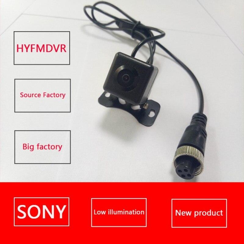SONY petit carré étanche pompe à incendie de voiture petite caméra vue de face vue arrière sonde de surveillance NTSC/PAL système 120 large angle