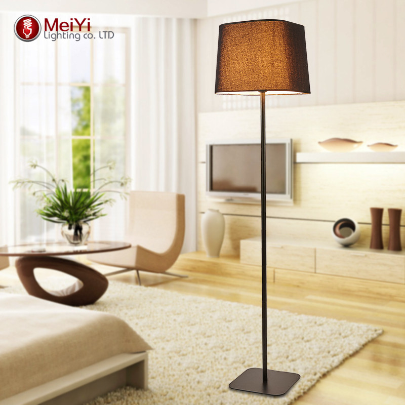 modern floor lamp red fabric e27 socket floor lamp hotel bedside lamp living room decoration modern