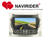 car dvd Fit for HYUNDAI IX45 SANTA FE stereo HU tape recorder multimedia radio GPS mirror link android 8.1.0 head unit
