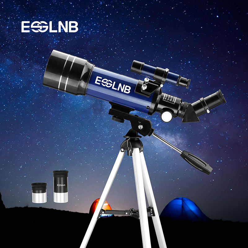 F36070 Astronomical Telescope With Tripod Finderscope For Beginner Explore Space Moon Watching Monocular Telescope Gift For