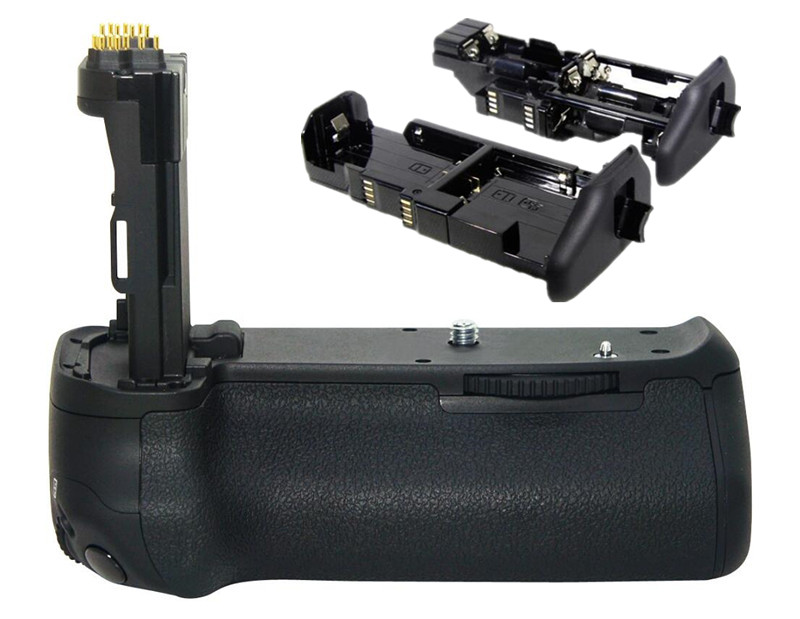 все цены на BG-E14 Camera Battery Grip Holder For Canon For EOS BG E14 70D BG-E14 MeiKe MK-70D SLR Digital Camera онлайн
