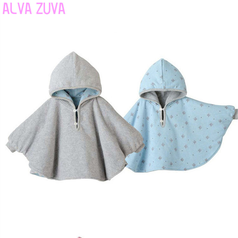 Hot-sale-2017-Fleece-Baby-Coat-Bebe-Cloak-Two-sided-Outwear-Floral-Baby-Poncho-Cape-Infant-toddler-newborn-Baby-Coat-1