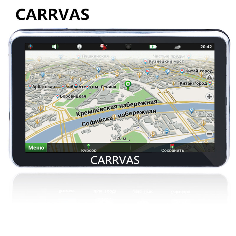 5 car GPS navigation with FM transmitter 800Mhz CPU 128M DDR built in 4GB with New
