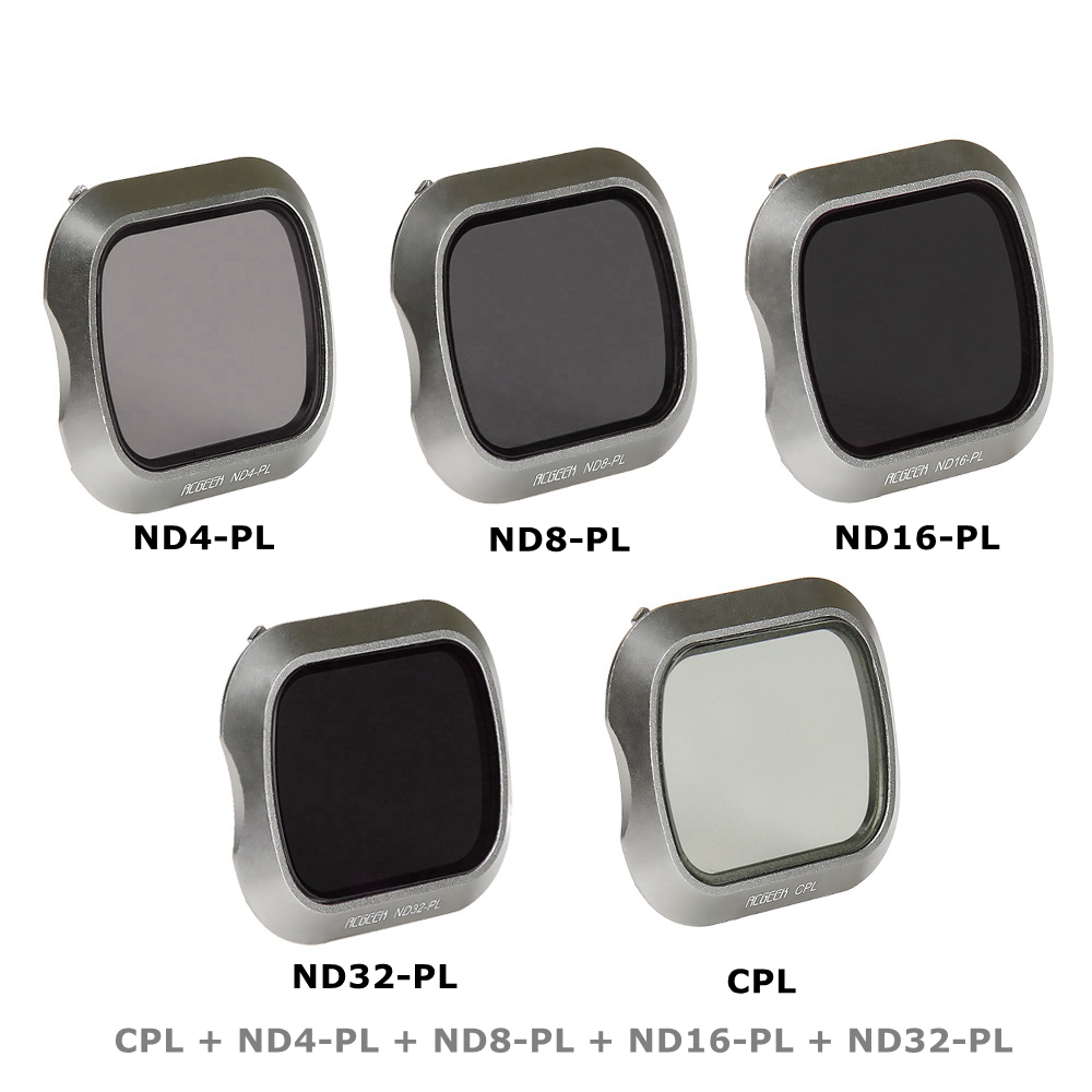 ND4 ND8 ND16 ND32 CPL Filter Kit For DJI Mavic 2 Pro Professional Drone Camera Lens Filters Accessories стоимость