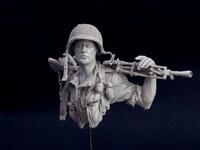 AE 12B17 1/12 послевоенной французского Иностранного легиона вьетнамской войны
