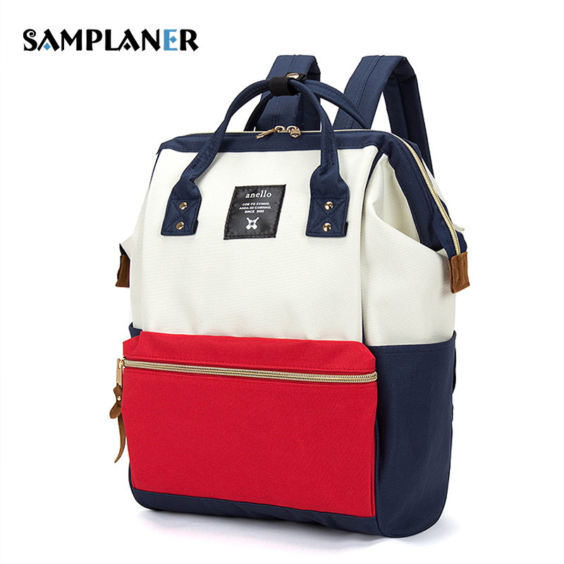 Samplaner Nylon Women Backpacks Ladies Travel Kanken Backpack Teenage Girl School Bag for 14 Laptop Shopping Travel Bags 2018 dy0606 ladies bag 15inch women backpack suit for 14 15 notebook laptop bag student school bag travel mountaineering bag