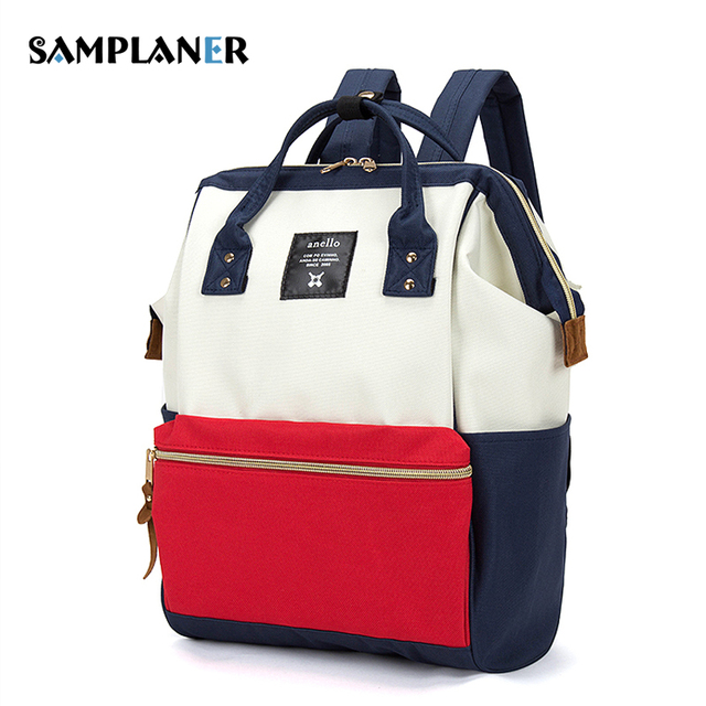 Samplaner Nylon Women Backpacks Ladies Travel Kanken Backpack ...