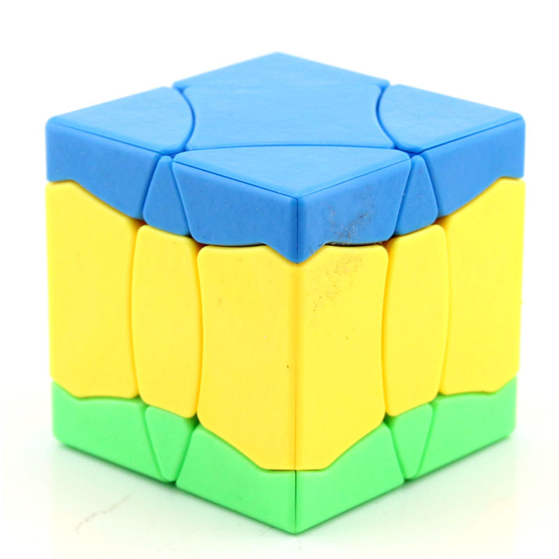 Shengshou No.1 Cube Bainiaochaofeng Frosted Cube Red Stikerless Magic Cube Toys For Children  Educational Toys Christmas Gift
