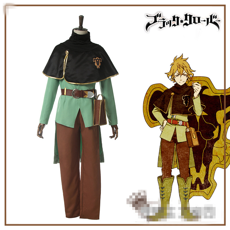 Finral Clover Anime Cosplay Finral cosplay costume men cosplay