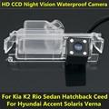 For Kia K2 Rio Sedan Hatchback Ceed 2013 Hyundai Accent Solaris Verna 2014 I30 Car CCD Night Vision HD Backup Rear View Camera