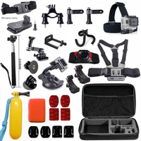 Teckam for SJCAM sj4000 accessories set for sjcam sj5000 plus sj5000x elite sj6 legend sj7 M10 Xiaomi yi 4k Plus Action Camera