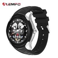 LF17 LEMFO Smartwatch Android 5.1 GPS Wifi Chiamata Messaggio di Promemoria SIM carta di Tf di Sostegno Monitor della Frequenza Cardiaca Bluetooth Smart Watch in