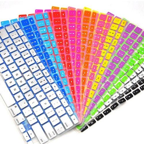 Силиконовая клавиатура Protector кожи фильм чехол для ноутбука Apple Macbook Тетрадь