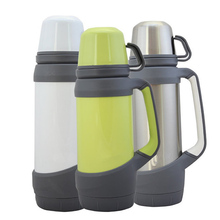 Stainless Steel Thermo Mug 1PC Outdoor Travel Thermos Bottle Vacuum Flasks For Man And Women