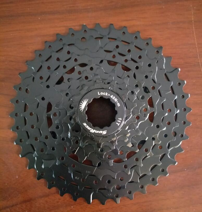 SunRace 8 Speed 11-40T CSM680 Bicycle Freewheel Mountain wide ratio Bicycle Cassette Tool MTB Flywheel Bike Parts 8-speed sunrace bicycle freewheel 10 speed mountain bicycle cassette tool mtb flywheel bike parts 11 40t 11 42t