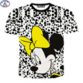 Mr.1991 summer style funny cartoon mouse 3D printed kids boys t-shirt for girls clothing 11-20 years teens tops tees DT14