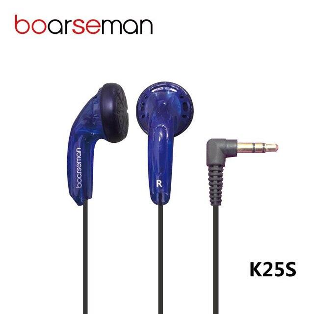 ホットnicehck boarseman K25sで耳イヤホンdiy発熱hifi低音イヤホン使用用mp3電話pcユニバーサル送料無料