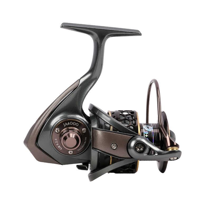 TSURINOYA Jaguar 4000 Đôi Spool 9 + 1BB Thép Không Gỉ Bạc Đạn Quay Reel Cá Thu Hút Reel Saltwater Fishing Reel Darg 7 kg
