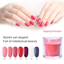 10g Dip Powder Set French Nail Polish Natural Fast Dry Art Decoration Without Lamp Cure Dipping Dust Decors