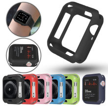 Men/Women Slim Watch Case for Apple Watch 4 44mm 40mm Cover Soft TPU Protector for iWatch 3 2 1 42mm 38mm Accessories Bumper(China)