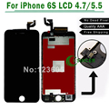 Для iPhone 6 S 6 S Plus ЖК-4.7 ''. 5'' Экран + Замена Сенсорного Планшета Ассамблеи Белый, Черный бесплатная доставка