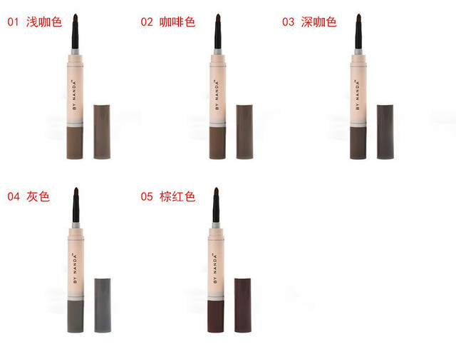 Natural Makeup Eyebrow Pencil Pomade Gel Enhancer Professional Brow Tint Tattoo Paint Cream Wax Waterproof Eyebrow Brush Pen 3