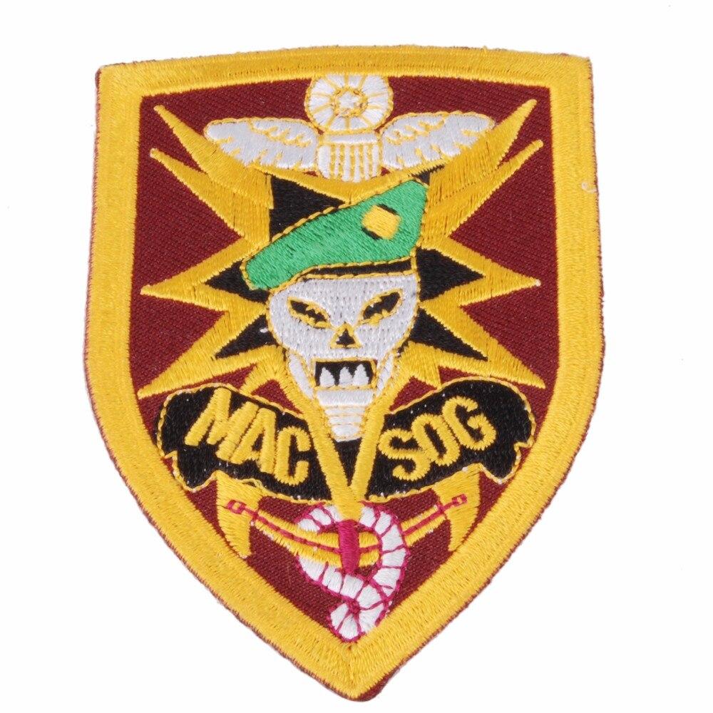 VIETNAM V SOG STUDIES AND OBSERVATION GROUP EMBROIDERED PATCH