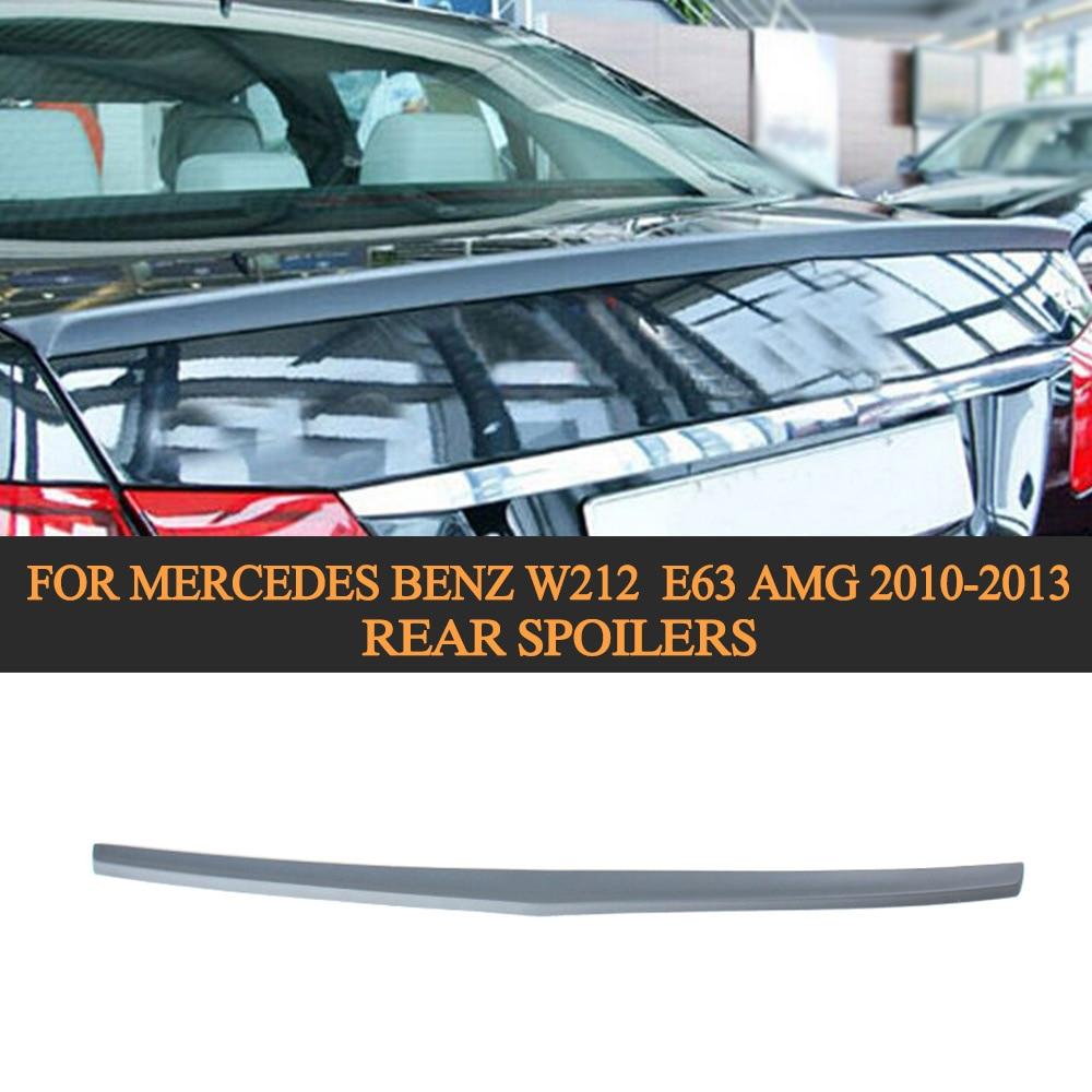 Unpainted PU Material Rear Spoilers for Mercedes Benz W212 E250 E350 E550 E300 E63 AMG 2010-2013 b Style Trunk spoiler fuel pump sending unit fuel filter for mercedes benz w211 e200 e220 e230 e240 e250 e270 e280 e300 e320 e350 e500