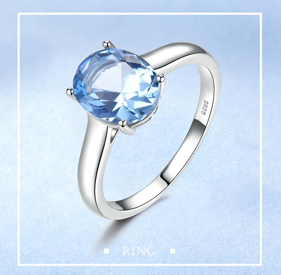 UMCHO ?Nano Sky Blue Topaz 925 sterling silver ring for women RUJ09B-1-pc (1)