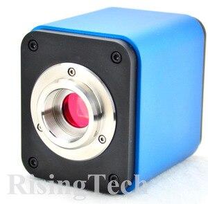 Image 3 - Профессиональный HD 1080p 60fps SONY imx237 датчик Тринокулярный C крепление цифровой видео HDMI USB микроскоп камера